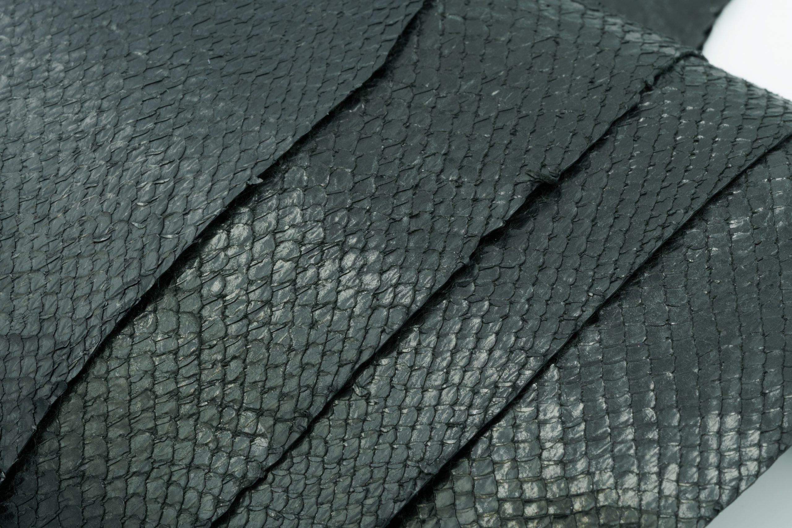 Cuir de saumon éco-responsable finition Crystal
